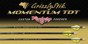 Momentum TDT® 400 Fletched Arrows 6-Pack